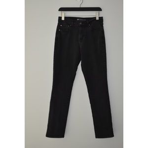 Levi's 505 Straight Leg Jeans in Black